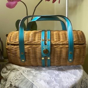 Kate Spade Wicker Handbag